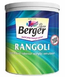 Berger Rangoli Total Care Premium Interior Acrylic Emulsion 1 L with services of home painting