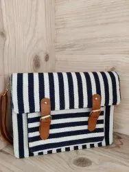 Jacquard Suitcase Bag