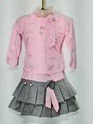 Kids Girls Skirt Top