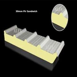 30 mm PIR Sandwich Panel
