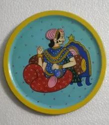 Round Wooden Royal Frame, For Home