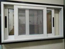 Modern White (Frame) Domal Residential Aluminium Window