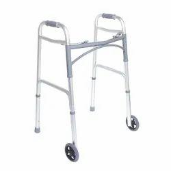 Foldable Walker With Wheel