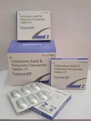 Cefuroxime Axetil Tablets + Potassium Clavulanate