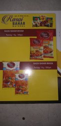 Rasoi Bahar Vegetarian Besan Pakoda, 1 Kg And 500 Grams, Packaging Type: Poly Pack