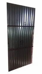 Polished Exterior Iron Safety Door Grill