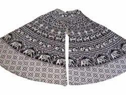 Black And White Skirt Palazzo