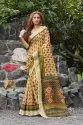 Pure Linen Digital Printed Saree