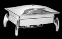 Grand Rect 1/1 Lift Top Chafer With Tiger Legs