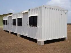 Mild Steel Portable Office Cabin