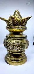 Brass Golden Kalash