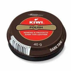 Dark Tan Kiwi Shoe Polish, Packaging Type: Box