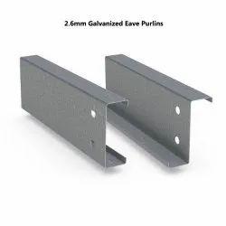 2.6mm Galvanized Eave Purlins