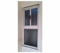 White Powder Coated Aluminium Kitchen Window