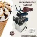 Semi Automatic Ice Cream Cone Making Machine