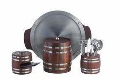 Barrel Barware Set