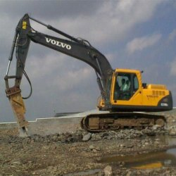 Volvo Excavator Rental Service, in MP and Gujarat