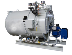 Oil & Gas Fired 1 TPH Steam Boiler, IBR Approved