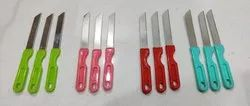 Stainless Steel Multicolor Knives, For Kitchen