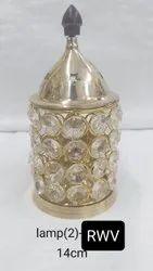 Crystal Lamp Shape Akhand Diya
