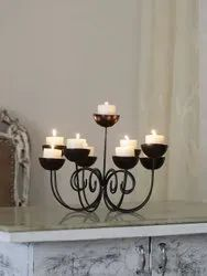 Fancy Iron Candle Stand