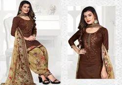 Mastani Patiyala 3 Punjabi Style Cotton Dress Material