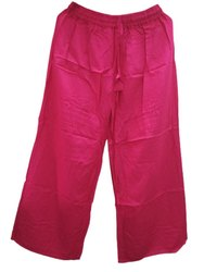 Ladies Rayon Pink Palazzo