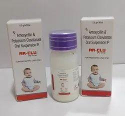 Amoxicillin 200mg+Clavulanic Acid 28.5mg Syrup