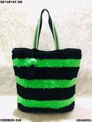 Exclusive Dari Cotton Handloom Beach Tote Bags