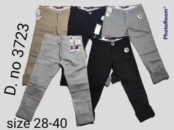 Cotton Kniting Men Casual Pant, Size: 28/30/32/34/36/38/40