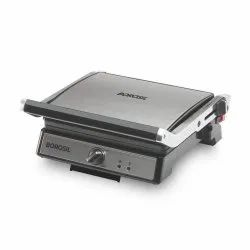 Borosil Hover To Zoom Super Jumbo Grill Sandwich Maker, For Commercial, Number Of Slices: 2