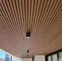 Louvered Baffle Ceiling