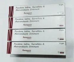 Povidone Iodine 5%+ Sucralfate 7%+ Metronidazole 1.0% Cream