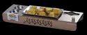 Rectangular Rose Gold Snacks Set