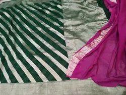 Banarasi Handloom Pure Chiffon Silk Saree