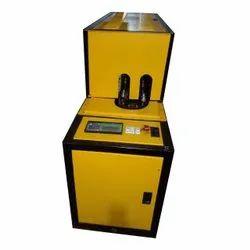 Semi-Automatic 4 Cavity PET Bottle Making Machine, 2 L