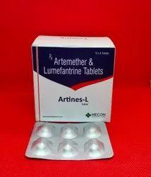 ARTEMETHER 80MG + LUMEFANTRINE 480MG