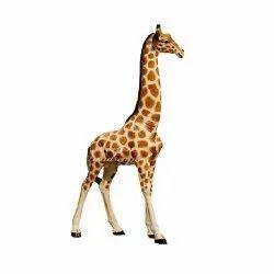 Small Giraffe Animal Statue