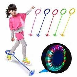 Flashing Jumping Ring Skipping Leg Toy