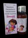 SIMCOLD  PARACETAMOL , PHENYLEPHRINE & CHLORPHENIRAMIINE MALEATE SUSPENSION 60ML