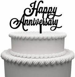 Marriage Anniversary Cake Topper