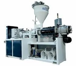 Wintech Industries Automatic And Semi Automatic Plumbing Pipe Extruder Machine, Capacity: 50 KG - 350 KG/Hr