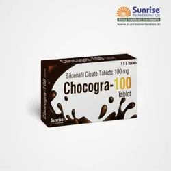 Chocogra 100 mg Chewable Sildenafil