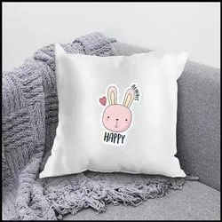 iKraft Cushion Cover (Without Filler) Design - Always Happy