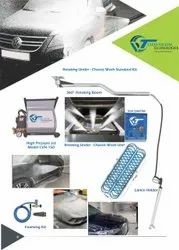 Automatic Car Under Chassis  Wash System And Boom