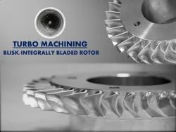 Aerospace 5 Axis Machined Components