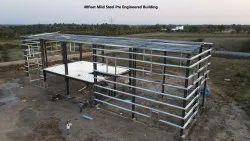40 Feet Mild Steel Pre Engineered Building