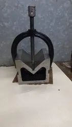 Cast Iron V Block With Clamp