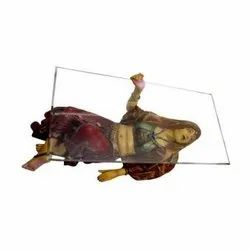 Beautiful Rajasthani Lady Center Table - (Without glass)