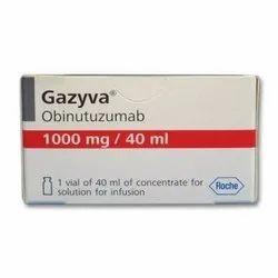 Gazyva Obinutuzumab 1000 Mg